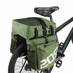 Bicycle Bike Trunk Bag Cycling Double Side Rear Rack Tail Se