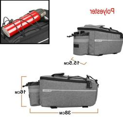 Bicycle Cycling Rear Rack Seat Trunk Storage Bag Packing The