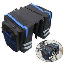 Bike Accessories Bicycle Bag Double Panniers Bag Rear Seat T