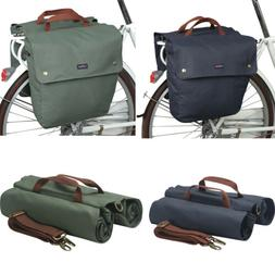 Tourbon Bike Double Panniers Cycling Trunk Bag Seat Pack Can