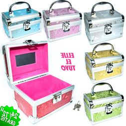 Box Chest Trunk Toiletry Bag Of Makeup Vanidades Cosmetic Je
