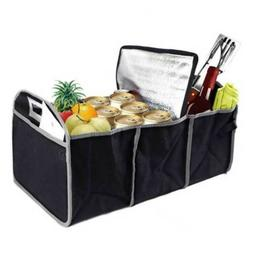 Car Storage Organizer Suv Trunk Collapsible for Food Groceri