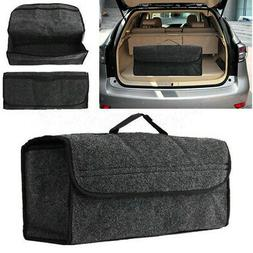 Foldable Car Trunk Boot Organiser Collapsible Storage Holder