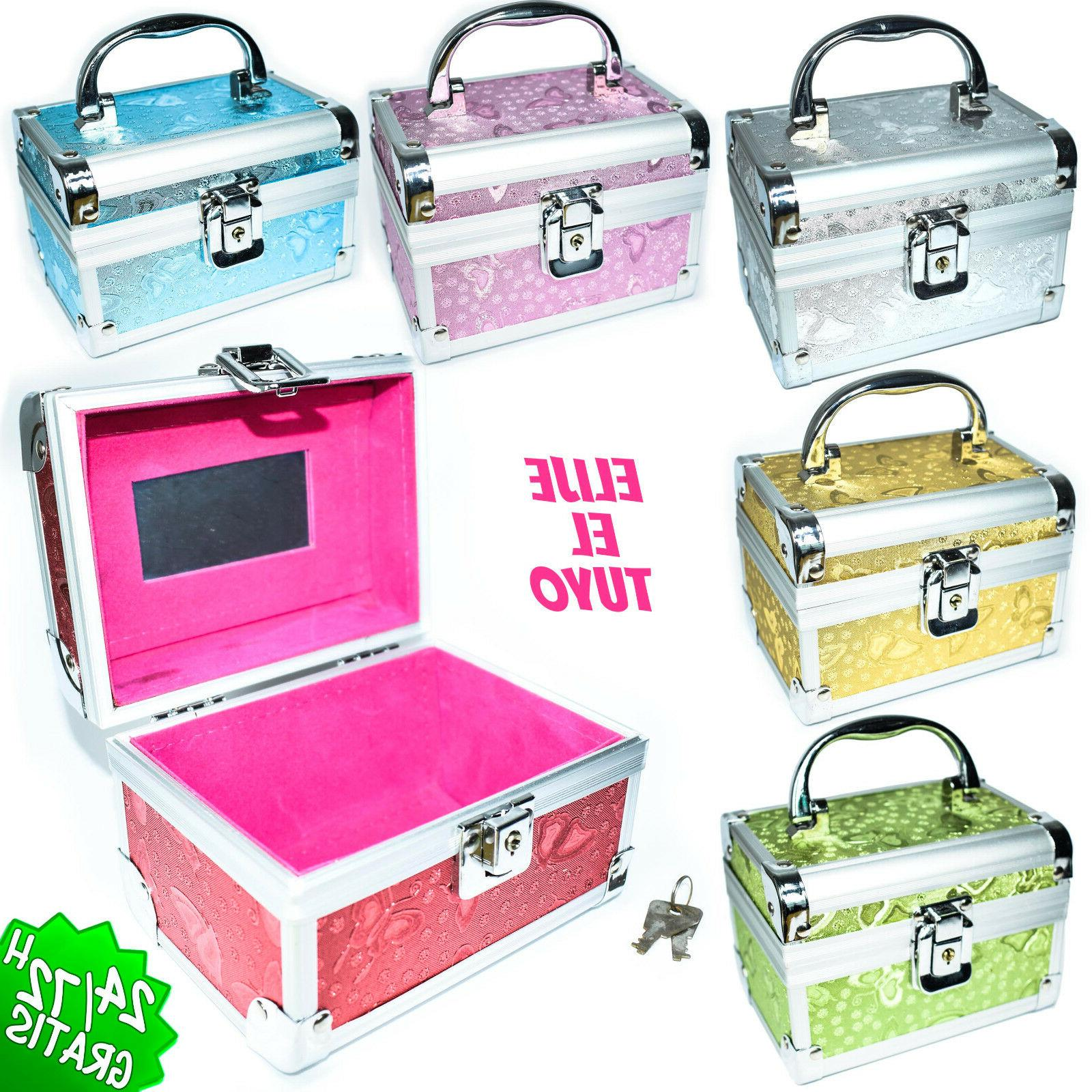 box chest trunk toiletry bag of makeup