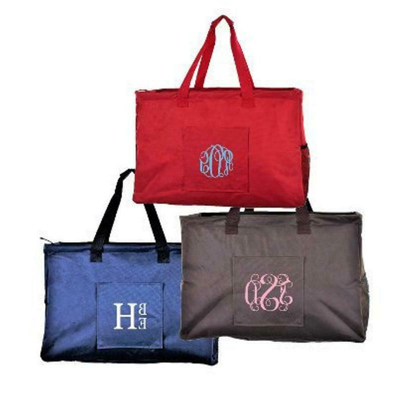 personalized trunk utility tote