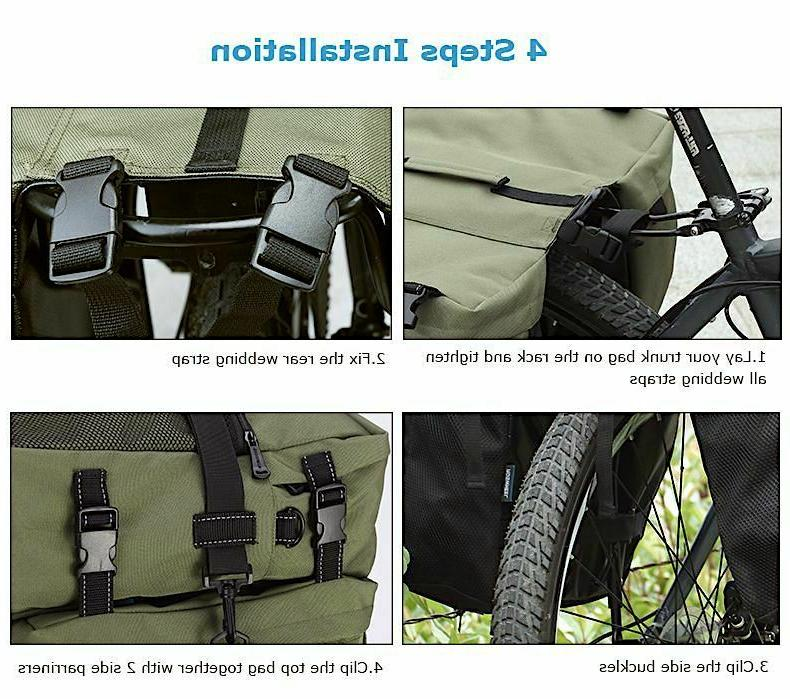 Trunk Bicycle 1 Cycling Rear