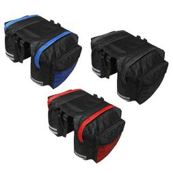 Mountain Bike Bicycle Double Side Rear Rack Tail Seat Trunk