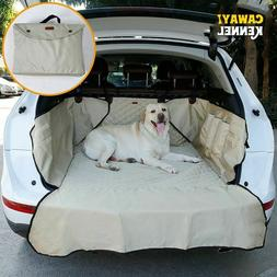 Plain Pet Carrier Dog Car Seat Cover Trunk Mat for Dogs Cats