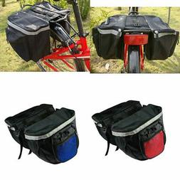 Polyester Mountain Bike Bicycle Double Side Pouch Rear Seat