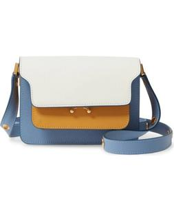 price drop nwt small trunk colorblock leather
