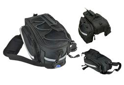 Cycle Design Rigid Expandable Trunk Bicycle Bag with Pannier