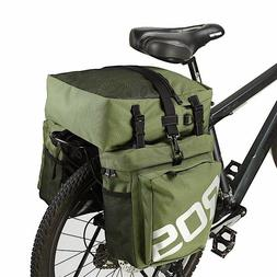 Trunk Bags Mountain Road Bicycle Bike 3 In 1 Cycling Double